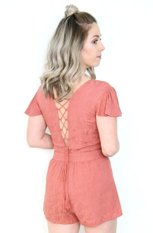 Front Twist Lace Detail Dress