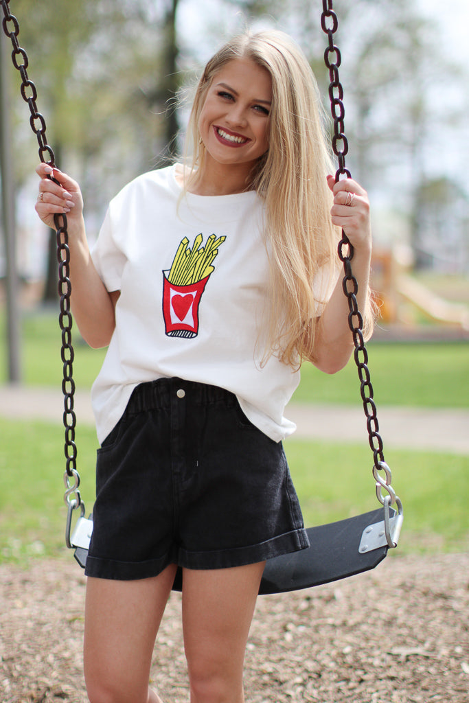 French Fry Graphic Tee