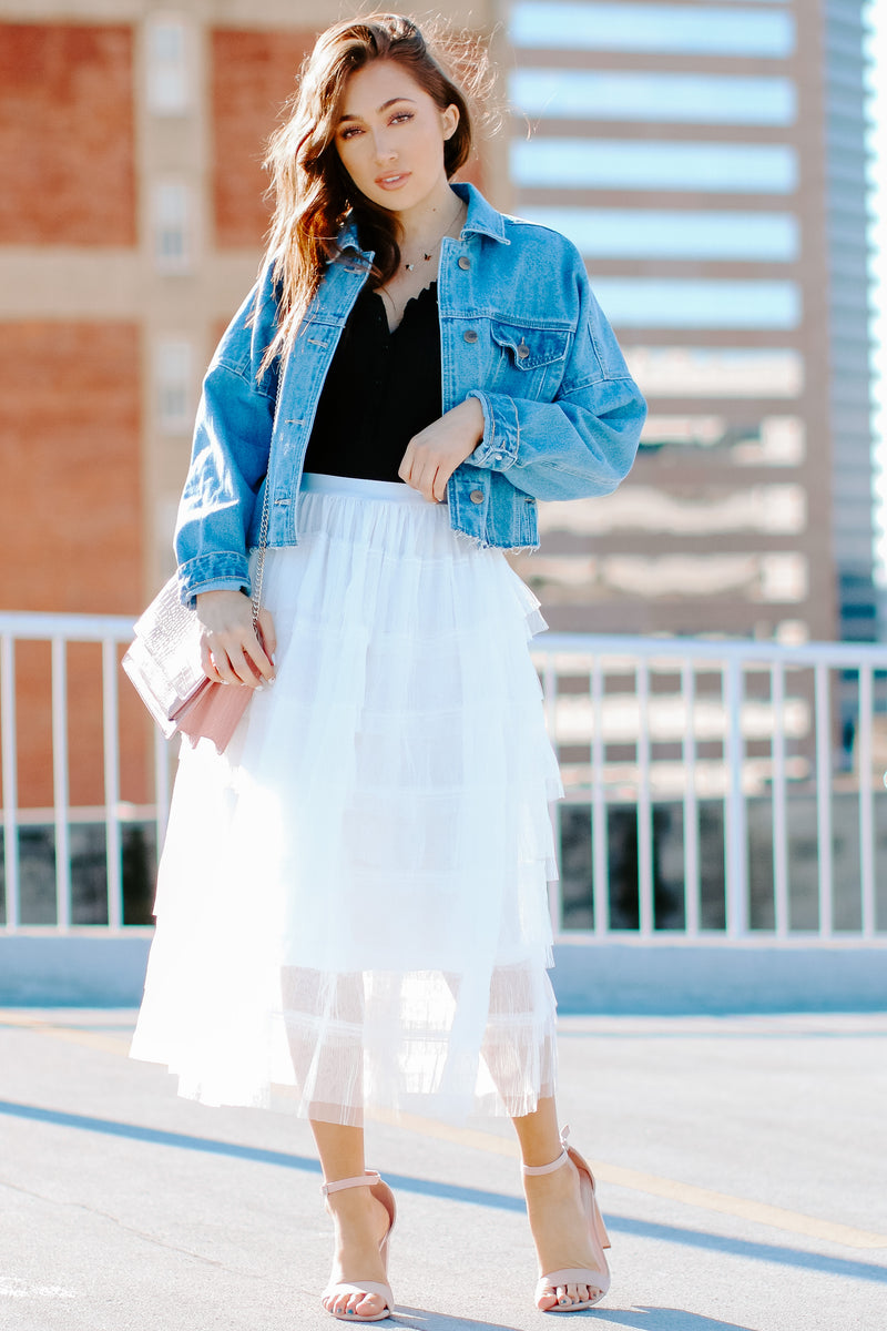 Titania Tiered Tulle Skirt - FINAL SALE - Madison and Mallory