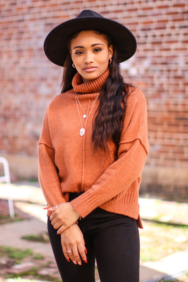 Pelham Turtle Neck Sweater - Madison and Mallory