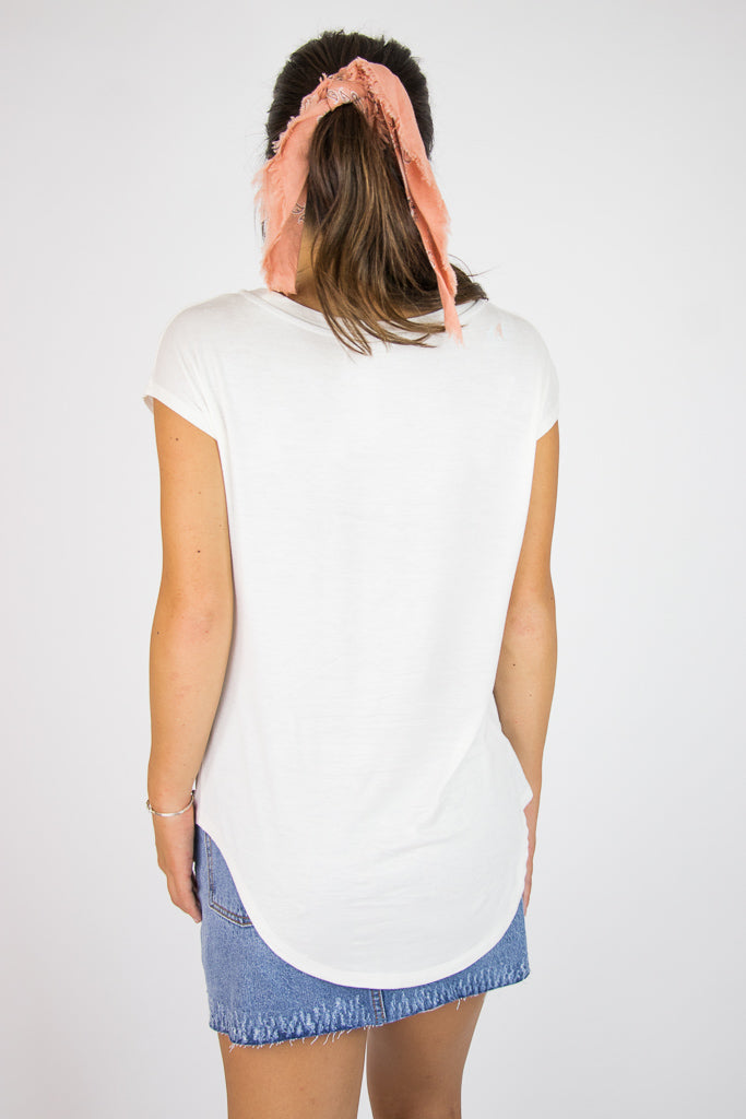 Scoop Neck Top - Madison + Mallory