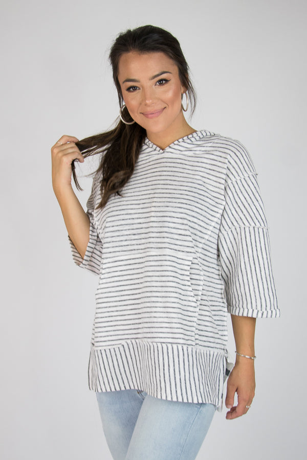 Raelynn Hooded Tunic - Madison + Mallory