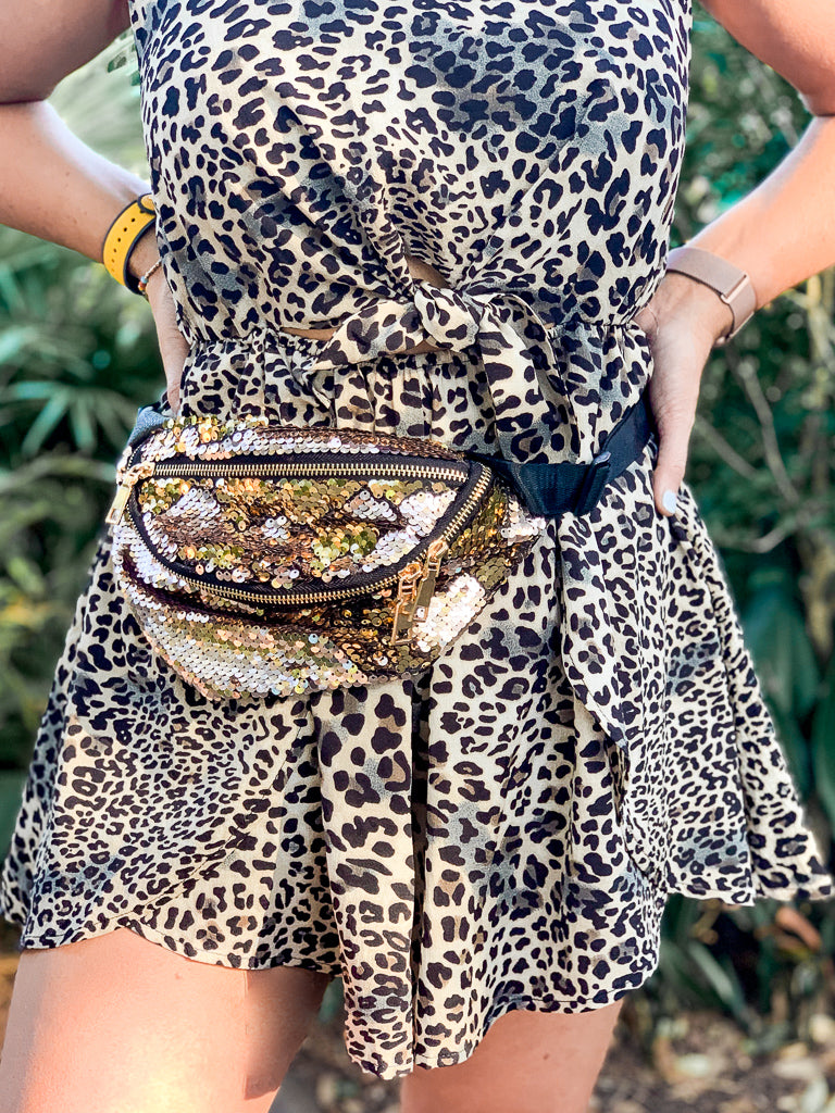 All that Glitters Sequin Fanny Pack - Madison + Mallory
