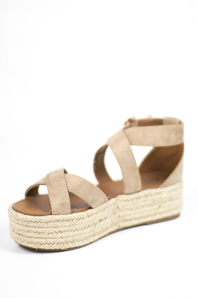 Espadrille Flatforms - FINAL SALE - Madison and Mallory