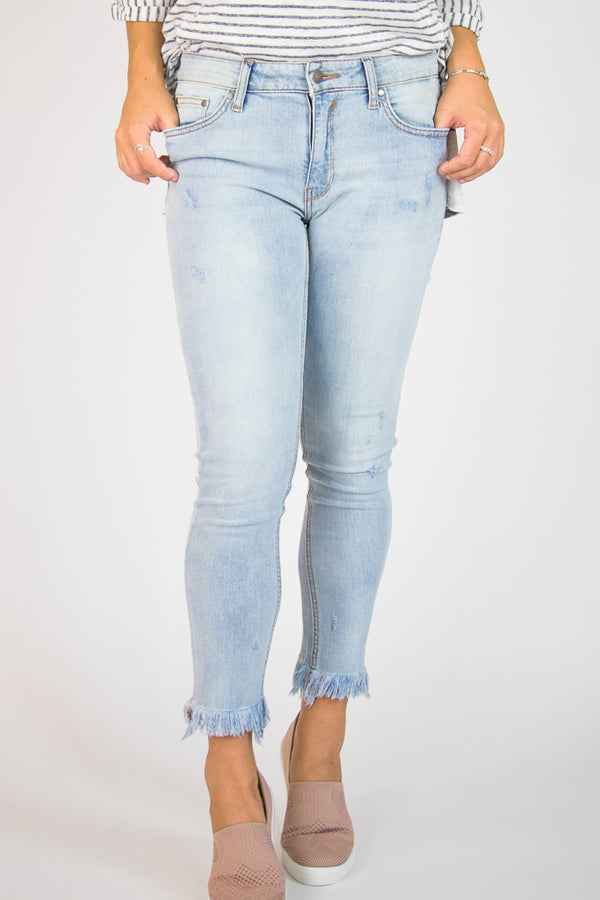 Chelsea Distressed Jeans - FINAL SALE - Madison + Mallory