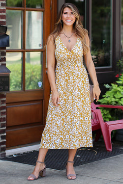 S / Honey Lovely Day Floral Dress - FINAL SALE - Madison + Mallory