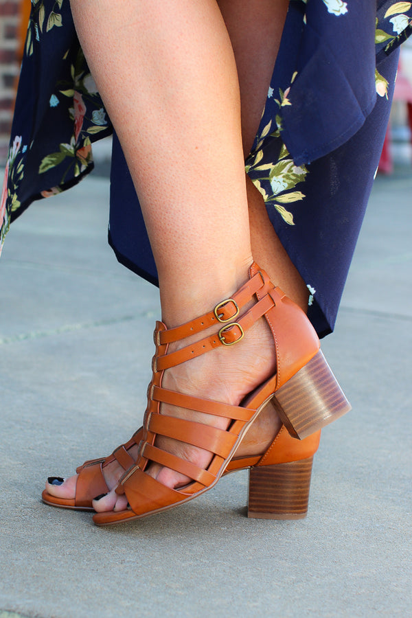 Hudson Block Heel Sandal - FINAL SALE - Madison + Mallory