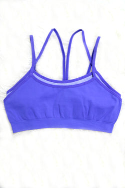 XS/S / Purple Two Layer Sports Bra + MORE COLORS - Madison + Mallory
