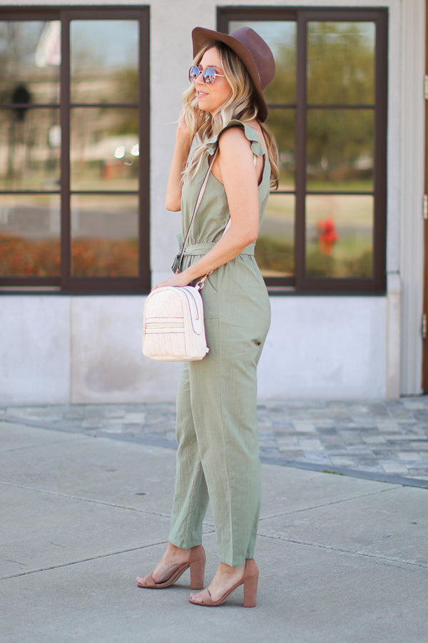 Life is a Journey Jumpsuit - Madison + Mallory