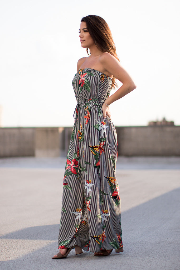 Dreaming of Paradise Jumpsuit - Madison + Mallory