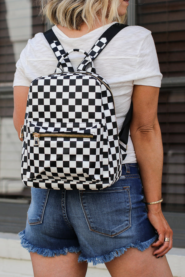 Check Me Out Backpack - FINAL SALE - Madison + Mallory