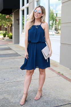 Here's Your Chance Flowy Dress - FINAL SALE - Madison + Mallory