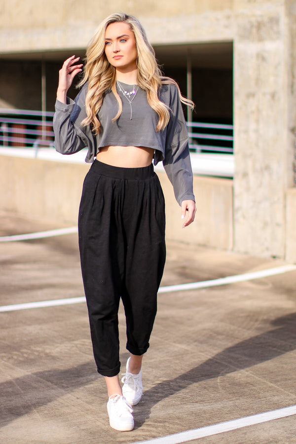 Storey Lightweight Crop Top - Madison and Mallory