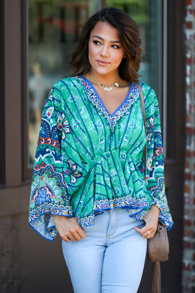 Revitalizing Floral Top - Madison + Mallory