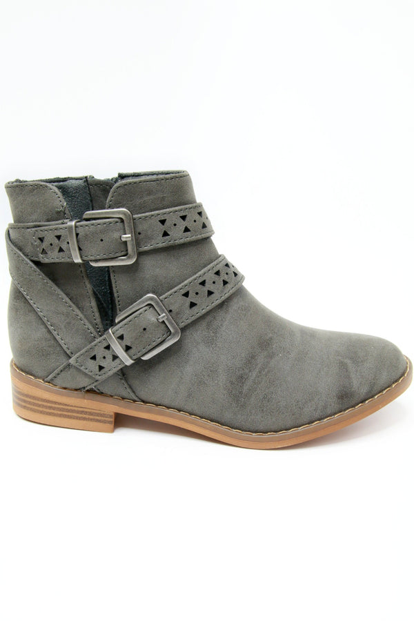 Mack Buckle Bootie - Madison + Mallory