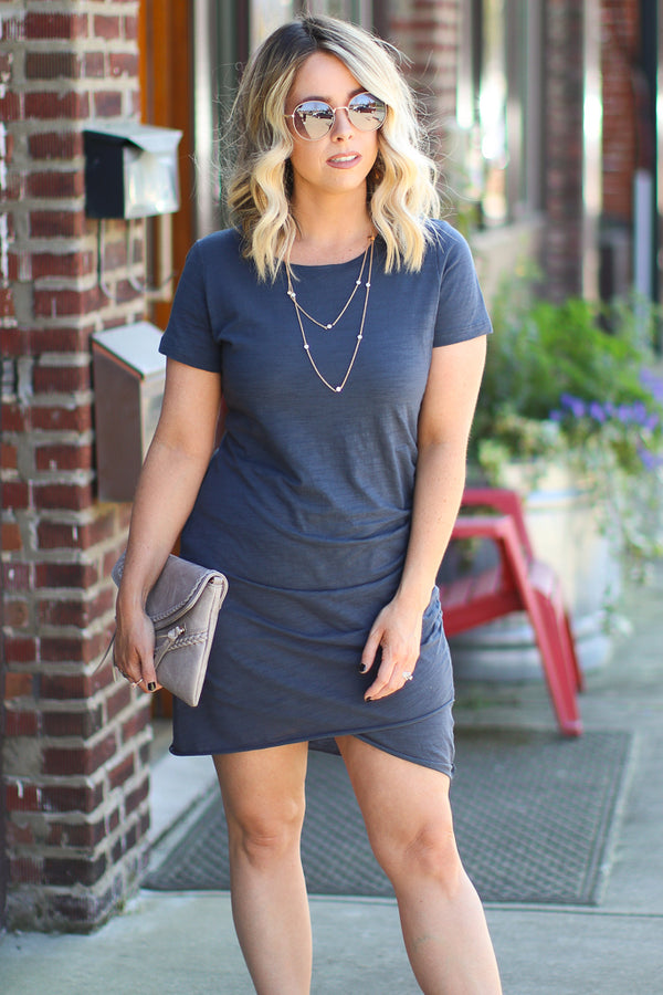Cupertino Layered Disc Necklace - FINAL SALE - Madison + Mallory