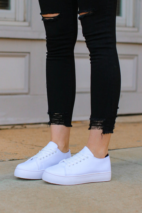 Finishing Touch Platform Sneakers - FINAL SALE - Madison + Mallory