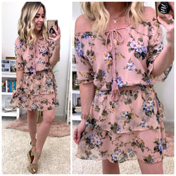 e7995234bf93 Instant Romance Floral Ruffled Dress - Madison + Mallory