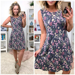 Jessamine Floral Swing Dress - Madison + Mallory