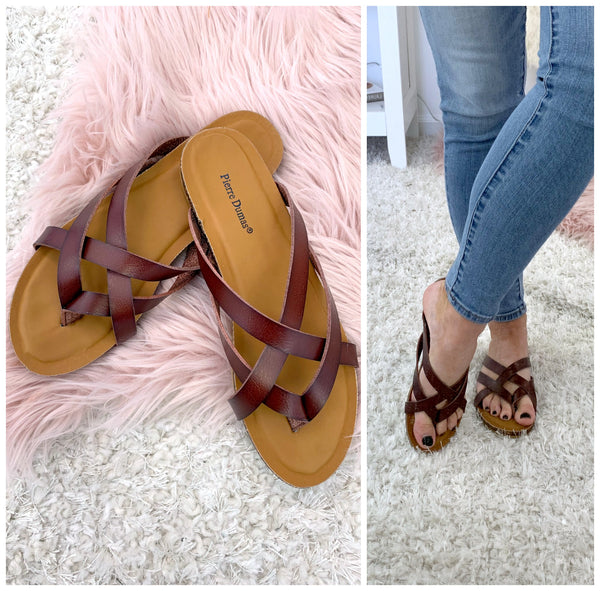 Lesly Strappy Sandals - Madison and Mallory