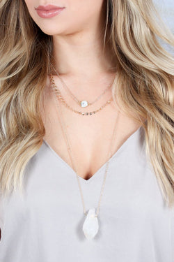 Marlee Layered 7 in 1 Necklace - Madison + Mallory