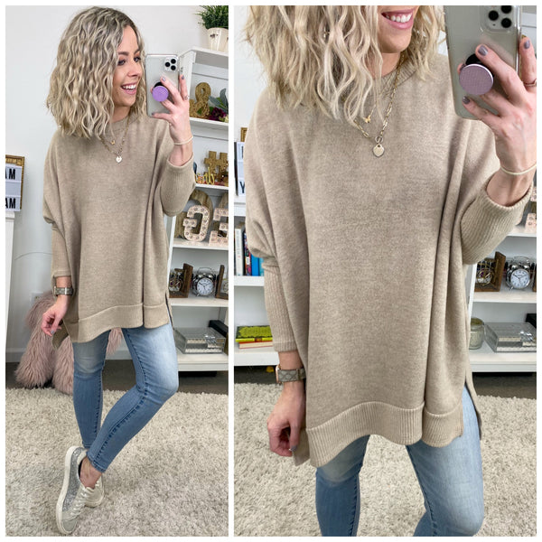 Montclair Soft Knit Pullover - Madison + Mallory