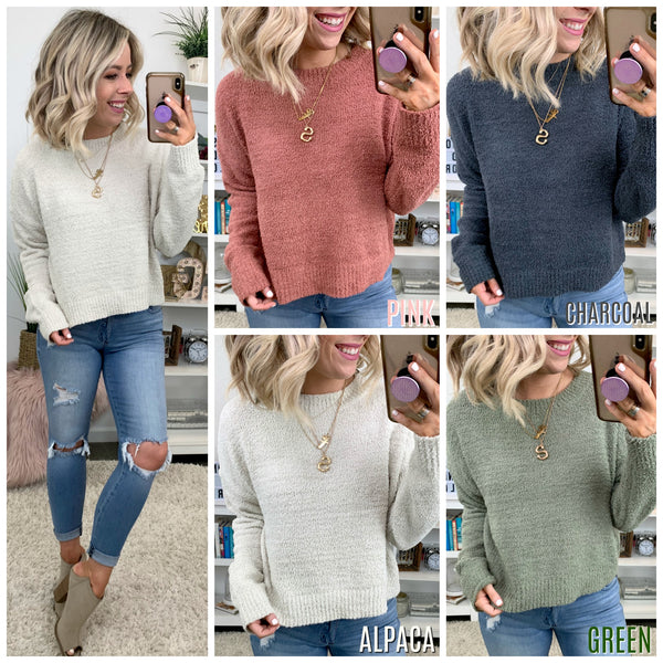 New Hope Cozy Knit Sweater - Madison + Mallory