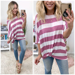 Now's Your Moment Striped Top - Madison + Mallory