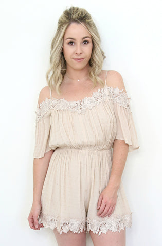Lace Up V-Neck Dress