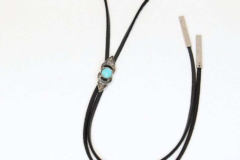 Turquoise Layered Choker - Madison + Mallory