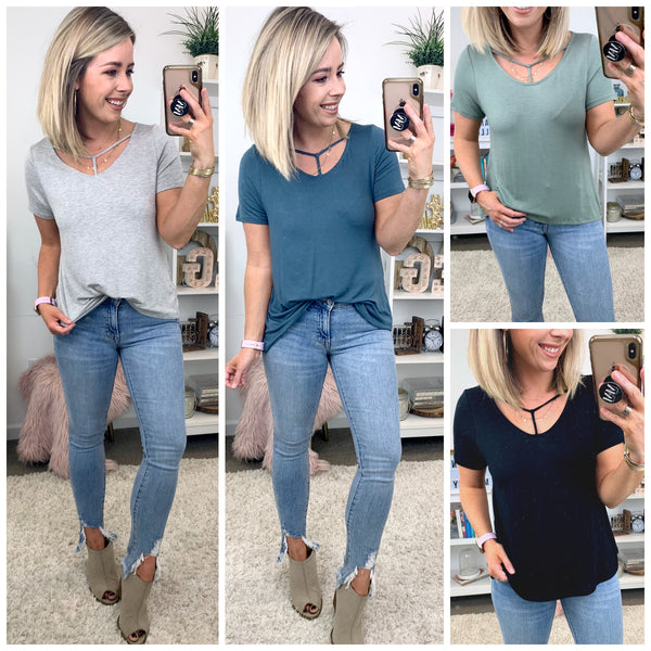Own It Strappy Front Top - FINAL SALE - Madison + Mallory
