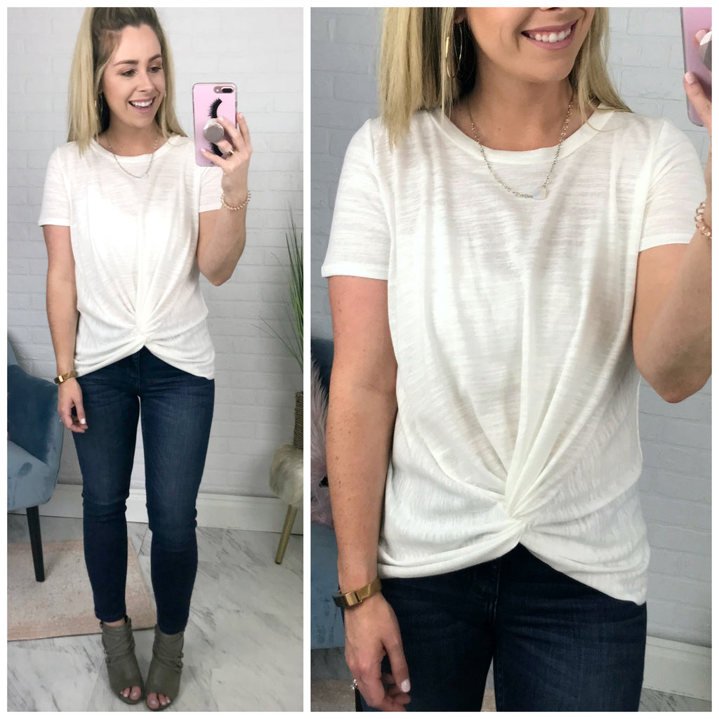 Knotted Top - Madison + Mallory
