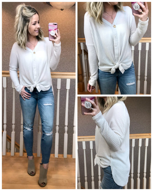 S / Alpaca Jayla Knit Top - Madison + Mallory