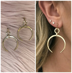 Moonshadow Earrings - Madison + Mallory