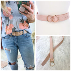 Double Circle Belt - Madison + Mallory