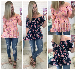 Dani Floral Top - Madison + Mallory