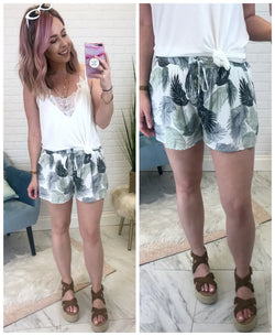 Vacay Vibes Tropical Shorts - Madison + Mallory
