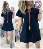 Tassel Temptation Dress - Madison + Mallory