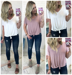 Short Sleeve Relaxed Top - Madison + Mallory