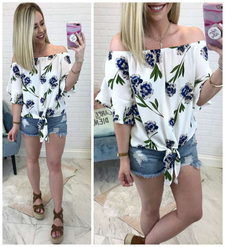 Floral Moment Top - Madison + Mallory
