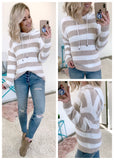 Lace Sleeve Sweater