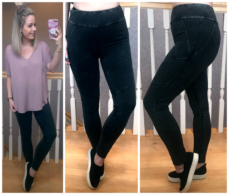Moto Jogger Leggings - Madison + Mallory