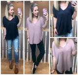 Ayla Knit Thermal Top - Madison + Mallory
