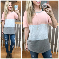 Move On Color Block Top - Madison + Mallory