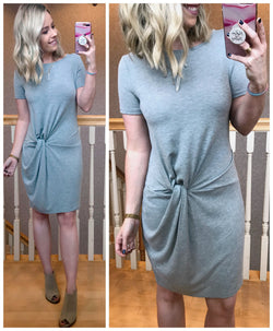 What a Twist Dress - Madison + Mallory