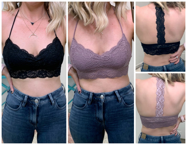 Laith Lace Bralette - Madison + Mallory