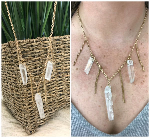 Found a Gem Necklace - Madison + Mallory