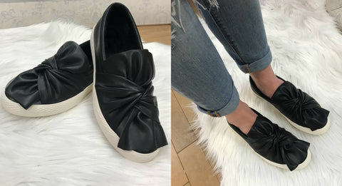 Bow Slip On Shoes