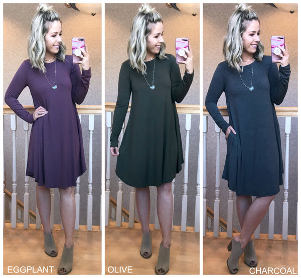 Miranda A-Line Dress - Madison + Mallory