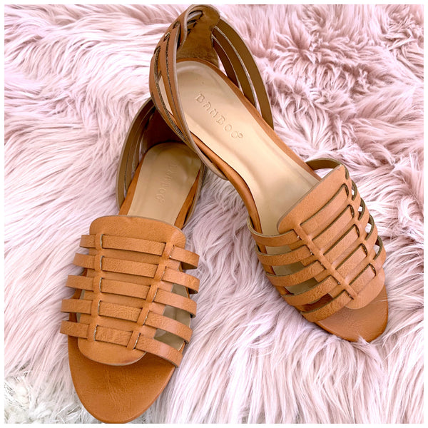 Right Direction Strappy Sandals - Madison + Mallory